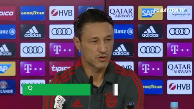 Kovac: Geht Rudy, hat der Kader eine gute Größe
