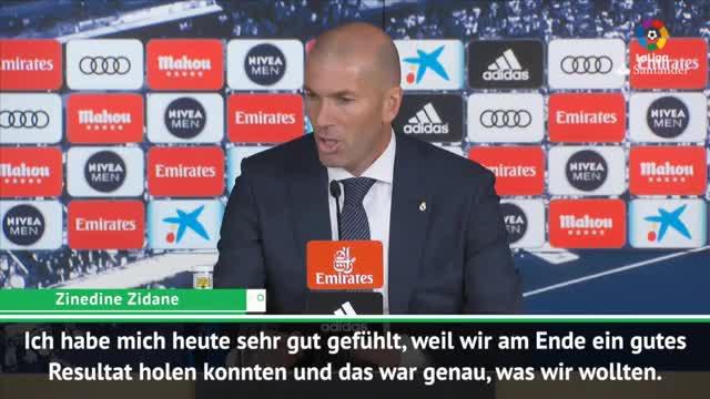 Traum-Comeback! Das sagt Zidane nach Spiel eins