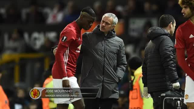 """Mourinho: Pogba-Aus? """"Weiß nicht, wie lange"""""""