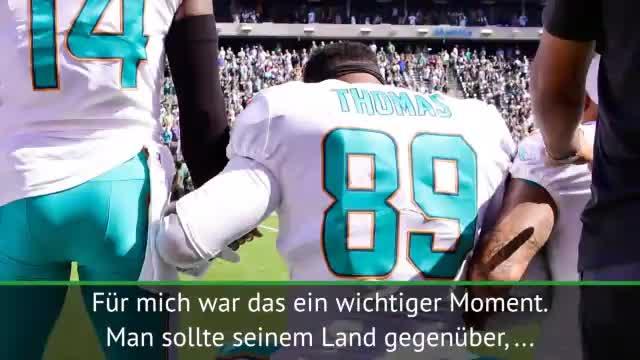 """Trump zu Protesten in der NFL: """"Beschämend!"""""""