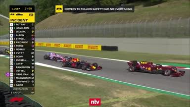 Das Crash-Festival beim Toskana-GP im Video
