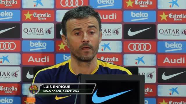Enriques Brandrede zur Barça-Krise