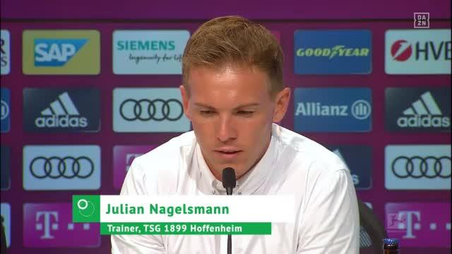"""Nagelsmann: """"Wollen keine Spieler verletzen"""""""