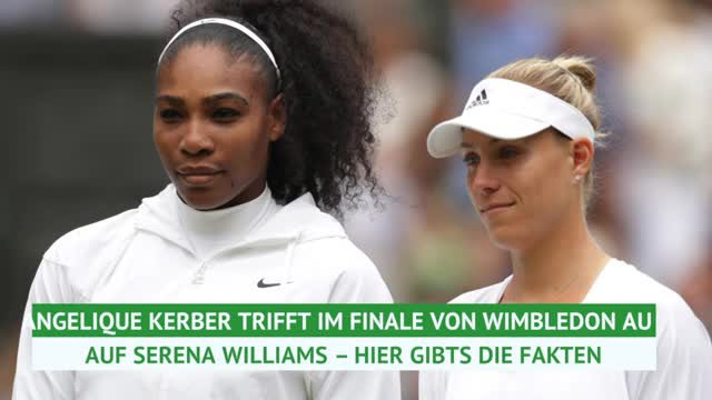 Wimbledon: Kerber vs. Williams im Fakten-Check