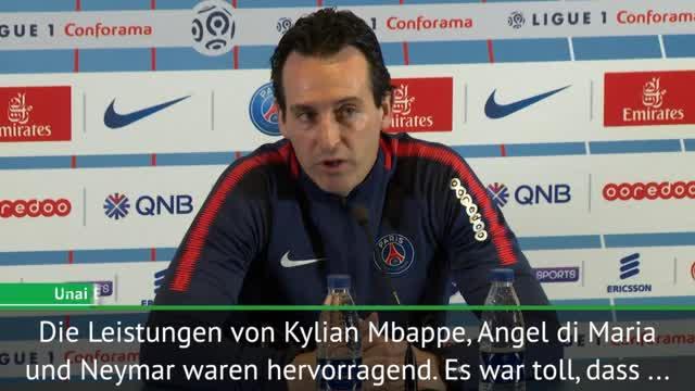 """Emery will mit PSG """"alle Wettbewerbe gewinnen"""""""