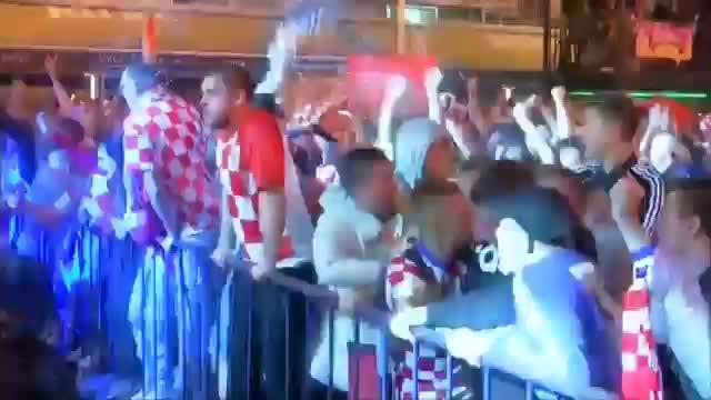 Zagreb steht Kopf! Kroatien feiert Finaleinzug