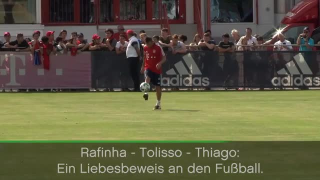 Thiago, Rafinha und Tolisso: Drei FCB-Zauberer