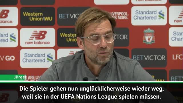 Klopp: Nations League? Sinnlosester Wettbewerb!