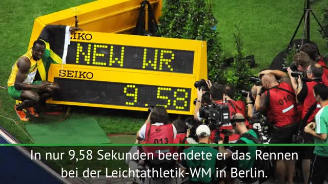 On This Day: Bolts Weltrekordlauf in Berlin