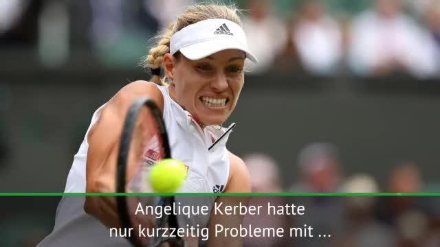 Wimbledon: Kerber zum dritten Mal im Halbfinale