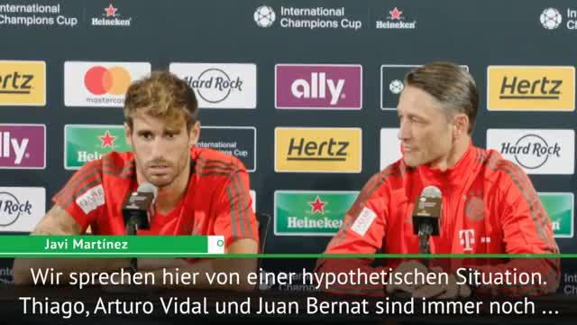 Martinez hofft auf Thiago- und Vidal-Verbleib