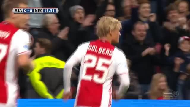 Hammer-Hattrick von Ajax-Youngster