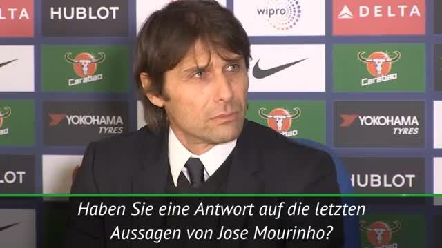 """Conte: Mourinho? """"Kann sehr gut schlafen"""""""
