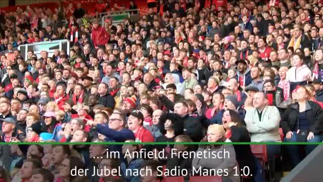 Ekstase pur! Reds-Fans feiern im Anfield