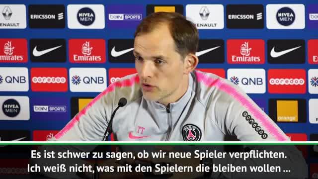 """Tuchel: Holen """"drei oder vier neue Spieler"""""""