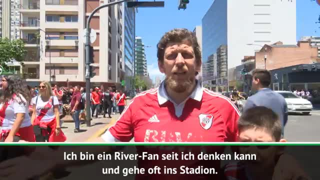 Copa Libertadores: River-Fans verteidigen sich