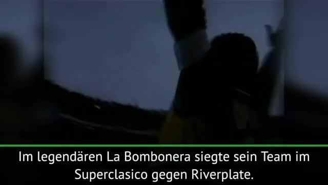 Maradonas letztes Spiel im La Bombonera