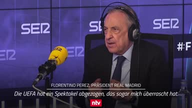 """Real-Boss Perez klagt: """"Als hätten wir den Fußball getötet"""""""