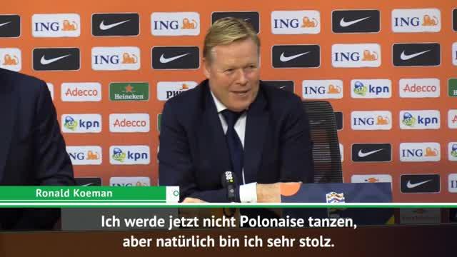 """Koeman nach DFB: """"Werde nicht Polonaise tanzen"""""""