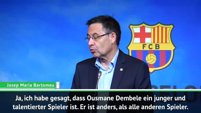 Dembele zu Bayern? Barca-Präsident erteilt Absage