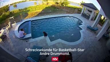 NBA-Star rettet Sohn vor dem Ertrinken