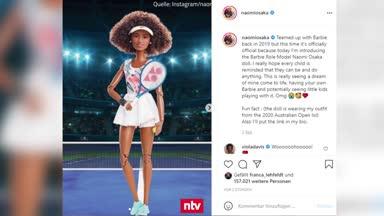 Tennis-Star Osaka wird zur Barbie