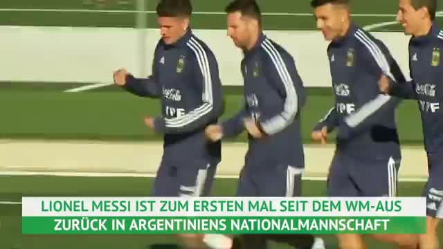 Argentinien: Lionel Messi is back!
