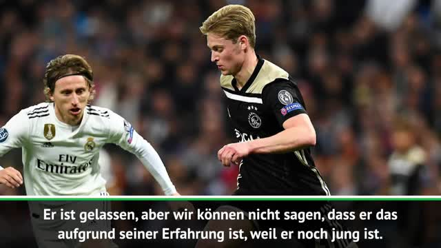 """Olsen: De Jong """"ein sehr besonderer"""" Spieler"""