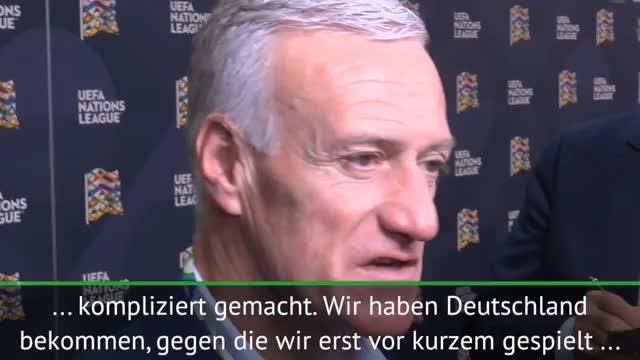Frankreich: Deschamps: Kennen Deutschland gut