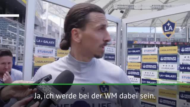 Ibrahimovic zur WM? Das sagt der Schwede