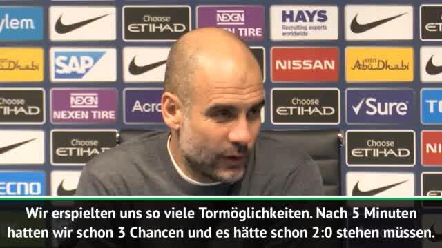 """Guardiola begeistert: """"Wir spielten unglaublich"""""""