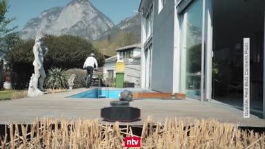 Müllentsorgung mal anders: BMX-Star verblüfft