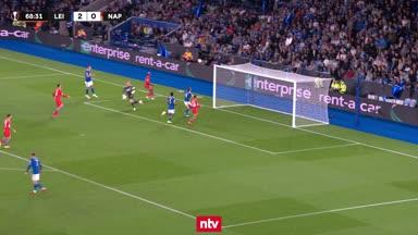 Ex-Wolfsburger Osimhen rettet Napoli vs. Leicester