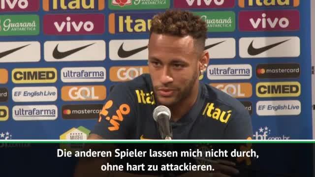 Neymar erklärt: So gehe ich mit Fouls um