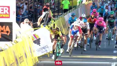 Ein Horror-Sturz erschüttert die Radsport-Welt
