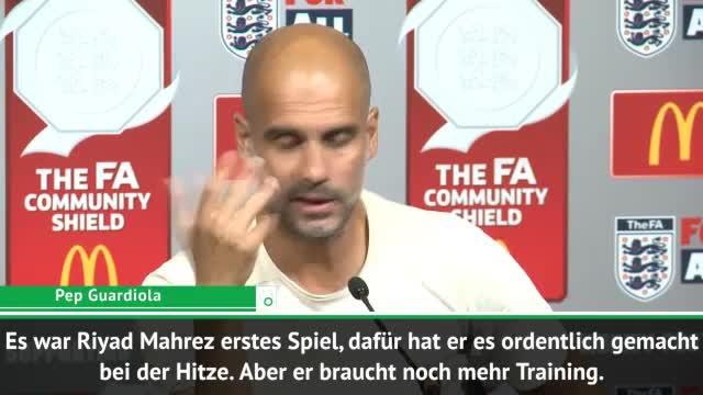 """Guardiola über Mahrez: """"Er wird uns helfen"""""""