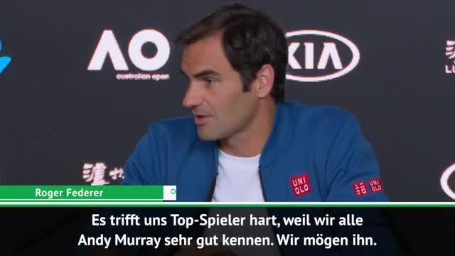Federer: Murray ist eine Legende
