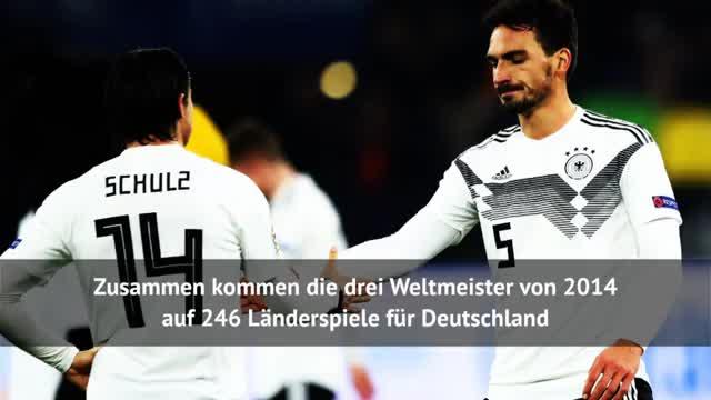 Hummels, Müller, Boateng: Die Zahlen im DFB-Dress
