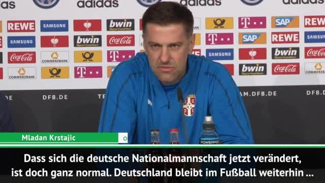 """Krstajic: DFB-Team ist eine """"Fußball-Weltmacht"""""""