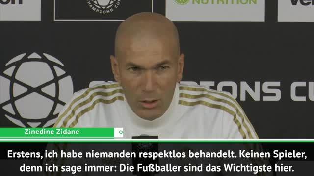 Zidane: Bale wollte gegen Bayern nicht spielen