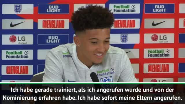 England-Debütant Sancho: So gut ist sein Deutsch