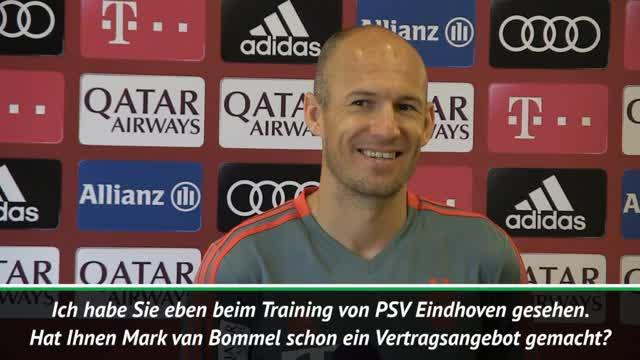 Robben: So lief mein Treffen mit Van Bommel