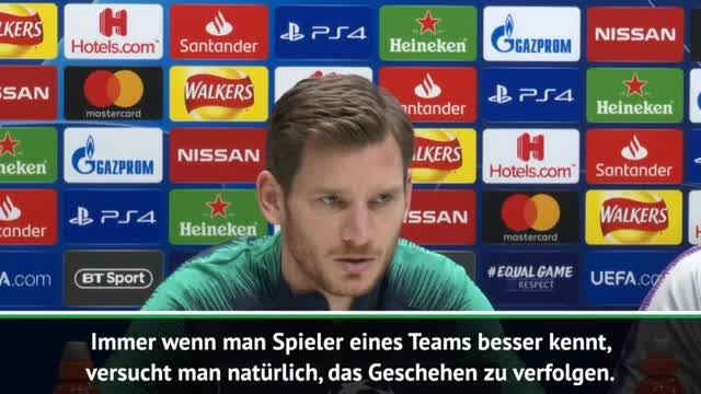 "Vertonghen: ""BVB definitiv ein Top-Team"""