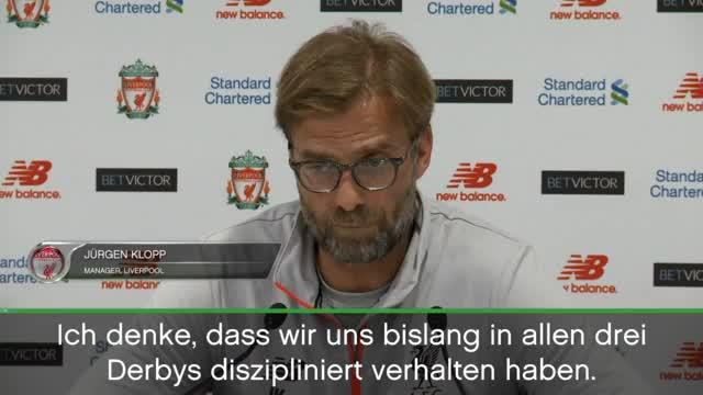 Klopp nach Derby-Sieg: Bin eben sehr emotional