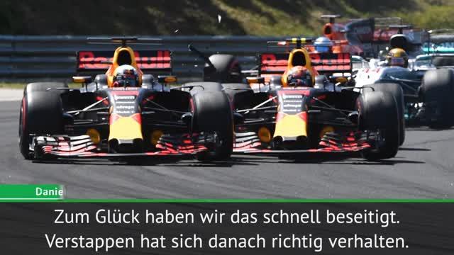 """Ricciardo lobt Verstappen: """"Reife gezeigt"""""""