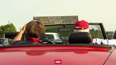 Dank Autokino: Ein Hauch von Stadionatmosphäre in der 3. Liga