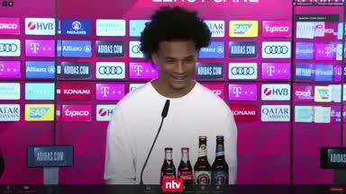 """Sané witzelt: """"Der Nervigste war Joshua Kimmich"""""""