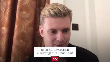 Wen Mick Schumacher nach seiner Beförderung zuerst anrief