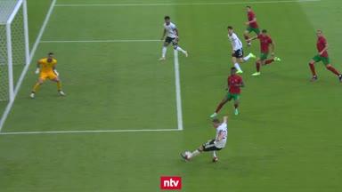 EM-Highlights: Alle Tore zwischen Deutschland und Portugal