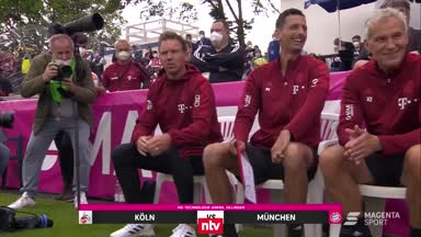 Die Testspiel-Pleite des FC Bayern gegen Köln im Video